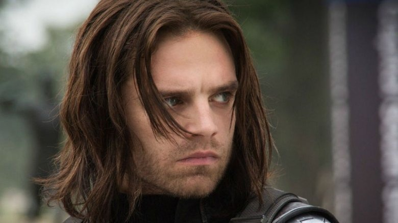 Sebastian Stan as Bucky in Captain America: The Winter Soldier