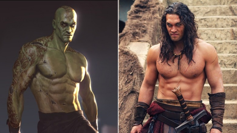 Drax the Destroyer and Conan the Barbarian