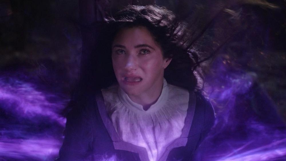 Agatha is shocked