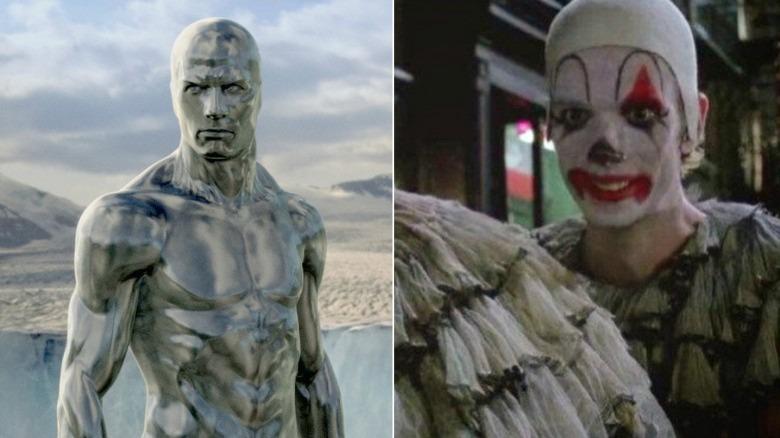 Silver Surfer and Batman Returns' Evil Clown