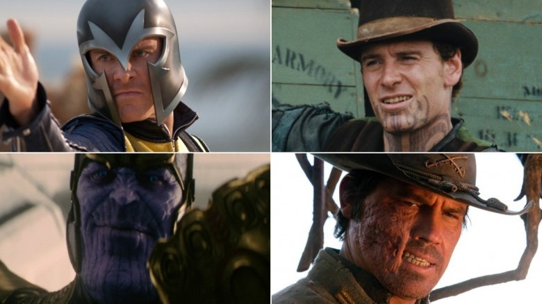 Magneto, Henchman, Thanos, and Jonah Hex