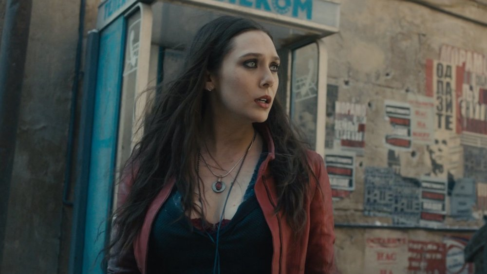 Elizabeth Olsen in Avengers: Age of Ultron