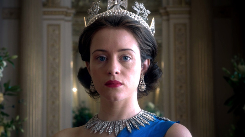 Claire Foy Queen Elizabeth Netflix's The Crown