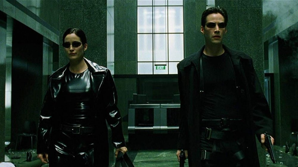 Scene from The Matrix