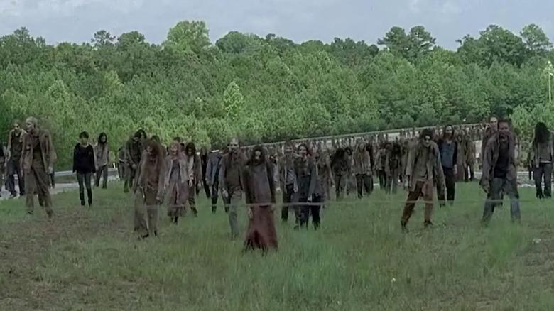 Scene from The Walking Dead