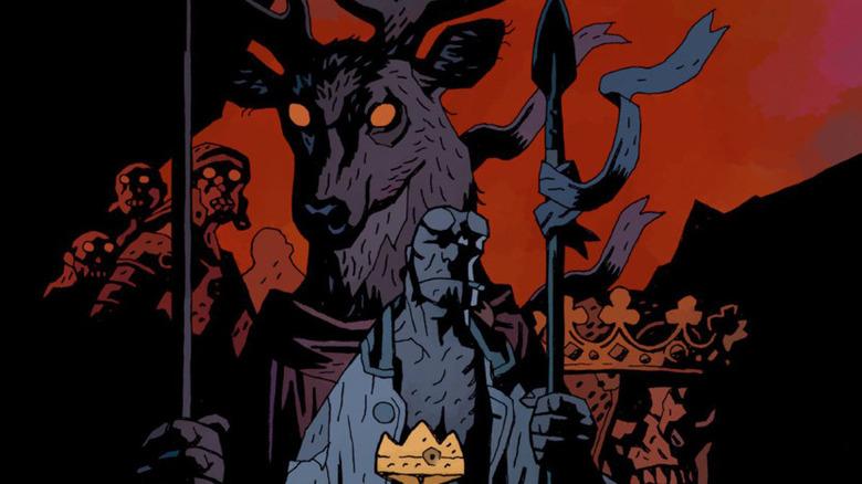 Hellboy The Wild Hunt art