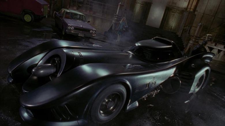 Batmobile parked