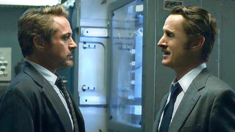 Tony meets Howard Stark