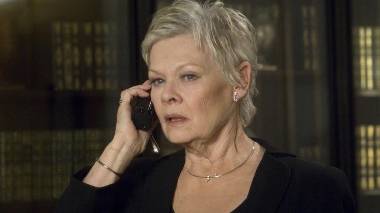 Judi Dench makes call