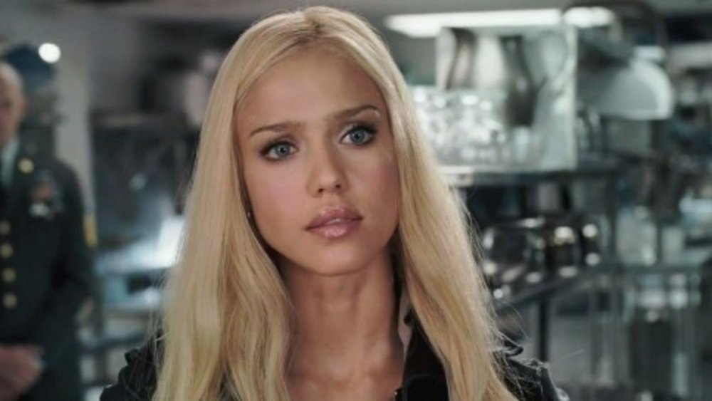 Jessica Alba in Fantastic Four: Rise of the Silver Surfer