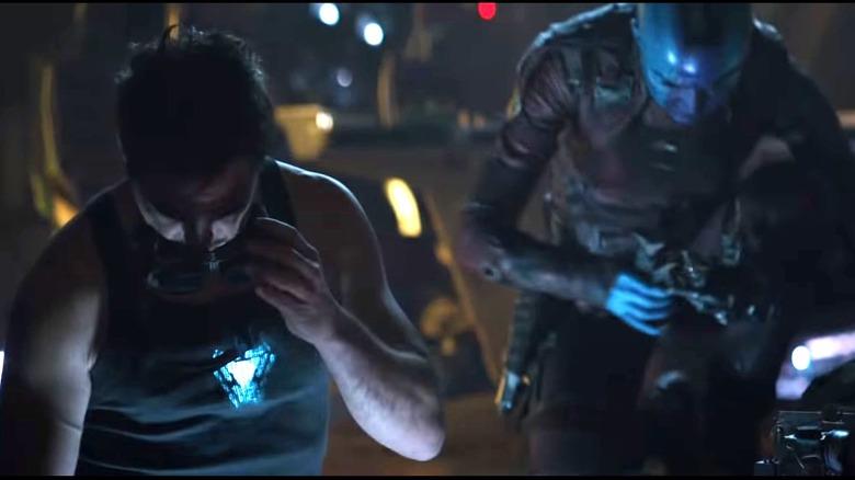 Stark Nebula Avengers Endgame