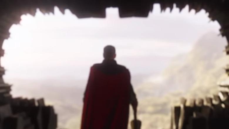Thor cave Avengers Endgame