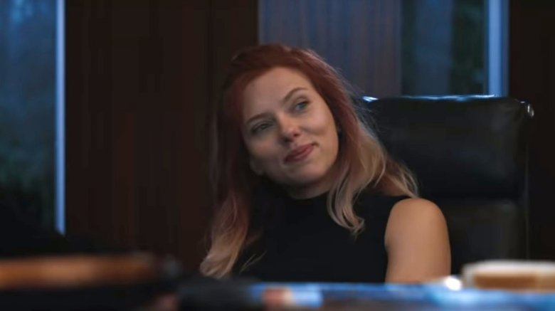 Scarlett Johansson as Natasha Romanoff/Black Widow in Avengers: Endgame