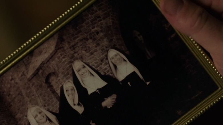 The Nun photo in Annabelle Creation