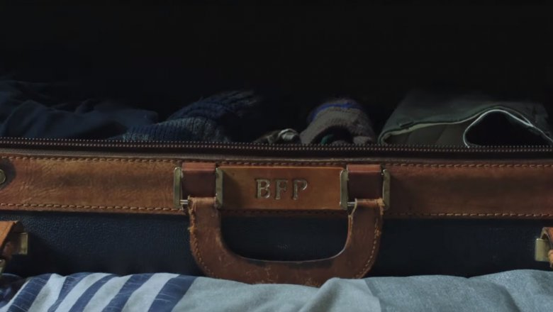 Uncle Ben Parker's suitcase in Spider-Man: Far From Home