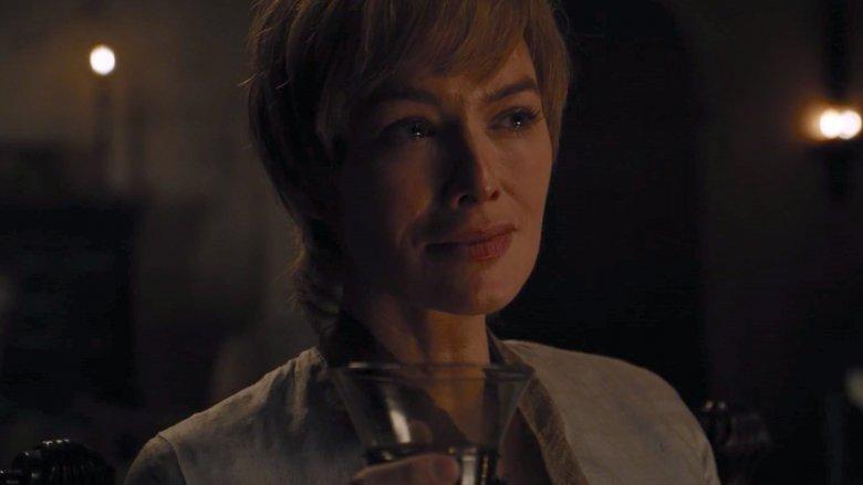 Cersei's back on the juice
