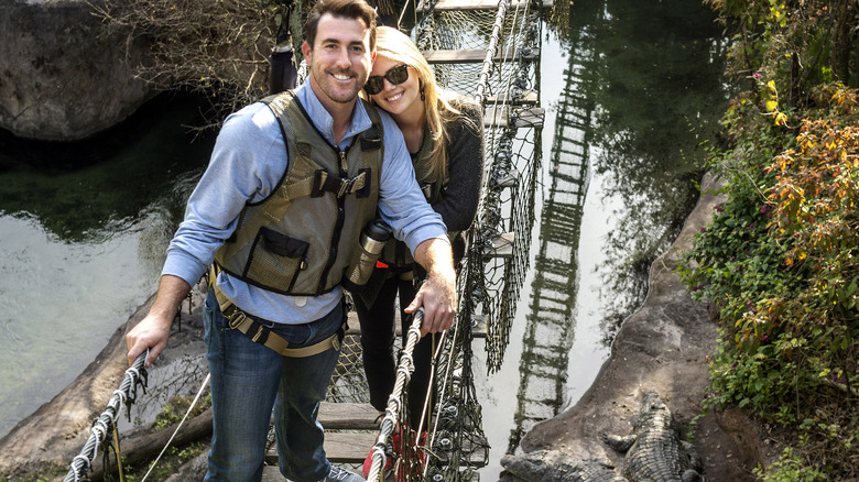 Kate Upton and Justin Verlander enjoy Walt Disney World's Animal Kingdom