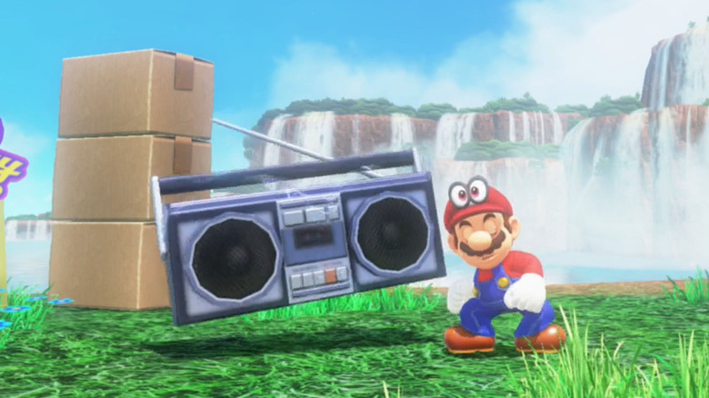 super mario odyssey easter eggs you missed