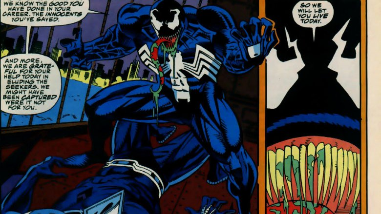 Darkhawk vs Venom