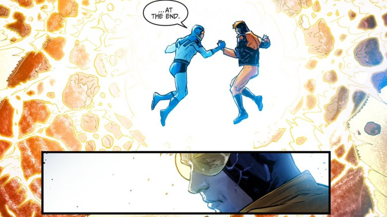 The death of Booster Gold