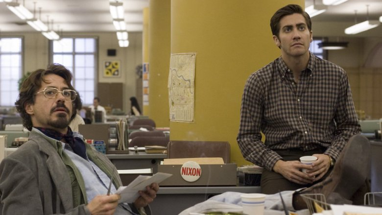 Robert Downey Jr. and Jake Gyllenhaal in Zodiac