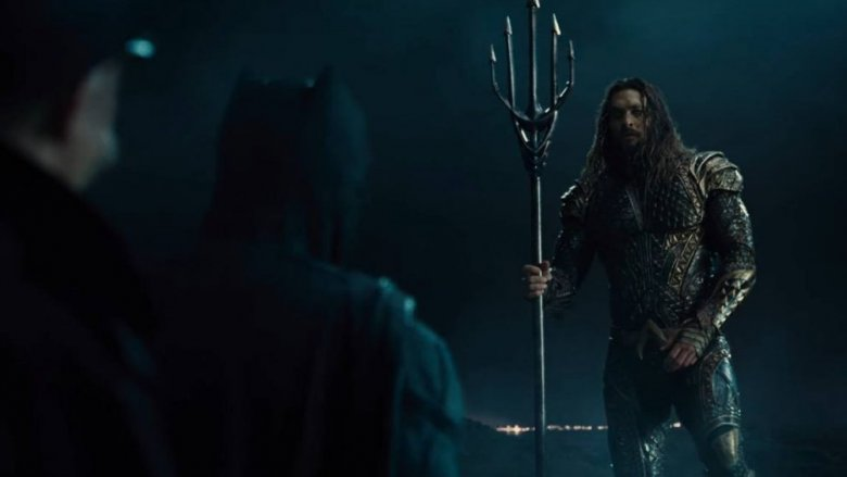 Scene from Justice League