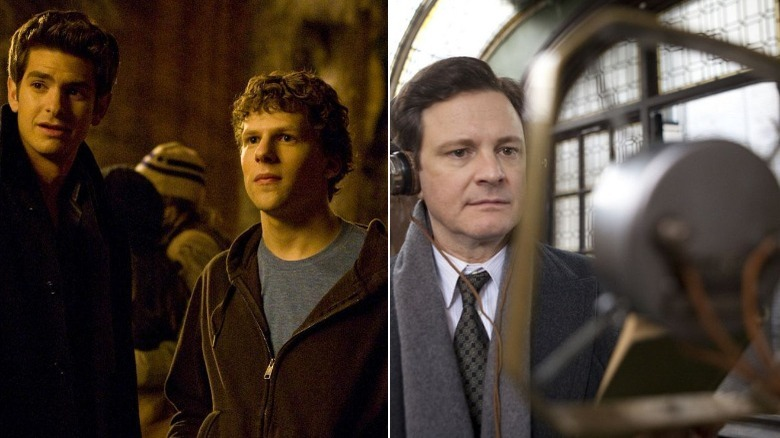 The Social Network (lost to The King's Speech)