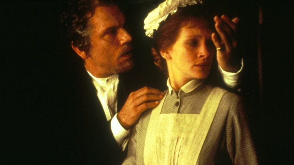 Dr. Jekyll holds Mary Reilly