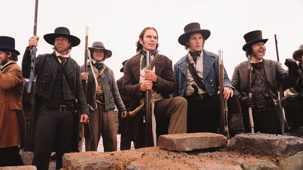 A scene from The Alamo