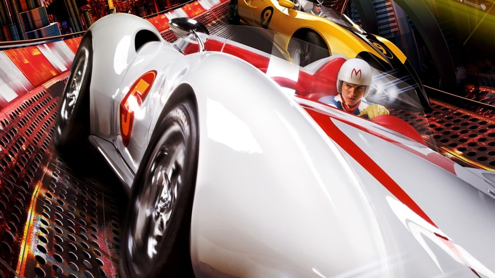 Speed racing the  Mach 5