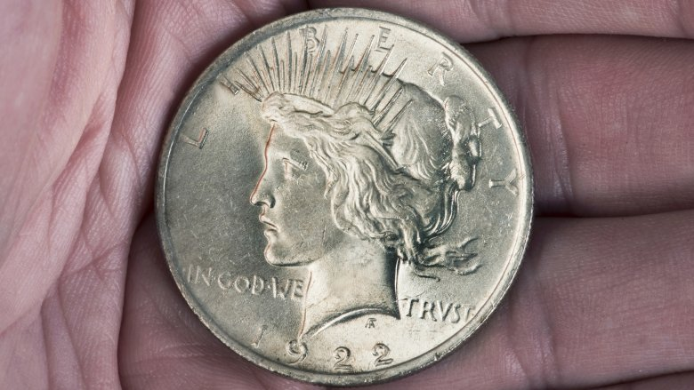 One of just a handful of 1922 High-Relief Proof Coins