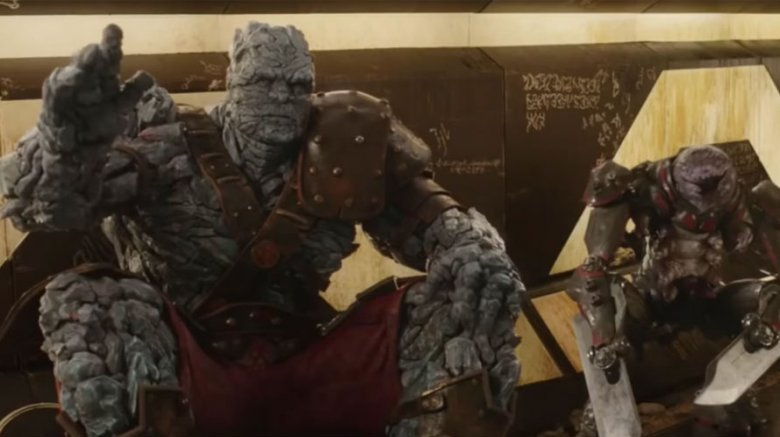 Korg and Miek from Thor: Ragnarok