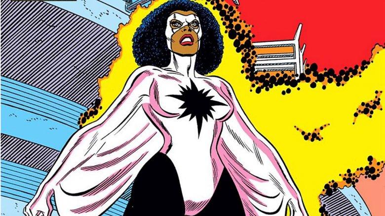 Monica Rambeau, the second Marvel Captain Marvel