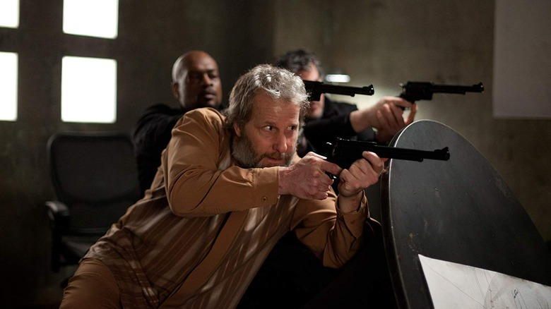Abe and his Gat Men in Looper