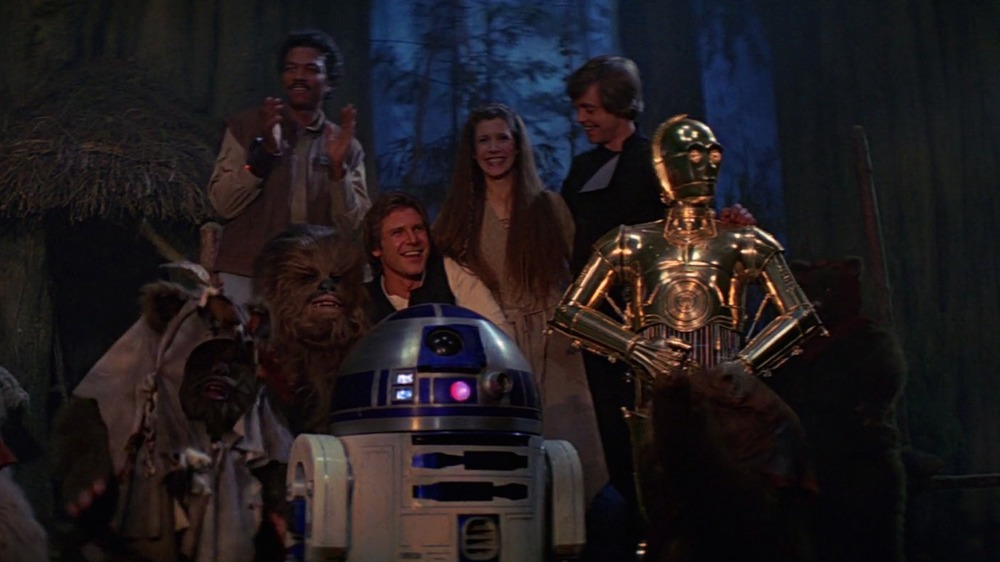 The Ending Of Star Wars: Return Of The Jedi Explained