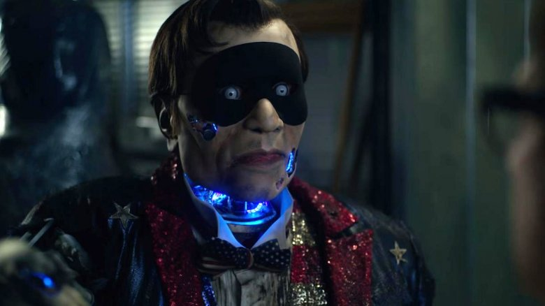 Mark Steger as Hoboman in Velvet Buzzsaw