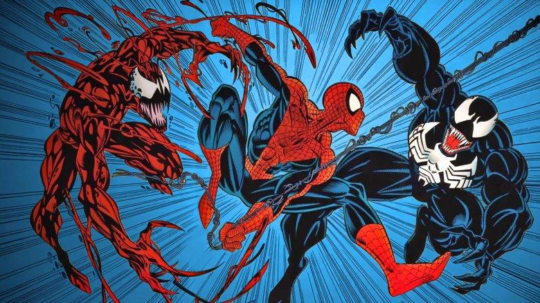 Carnage Spider-Man Venom