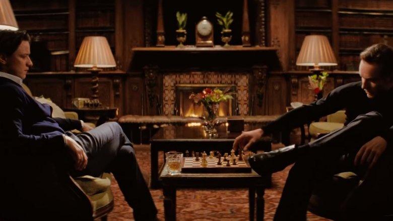Professor X Magneto Chess X-Men First Class