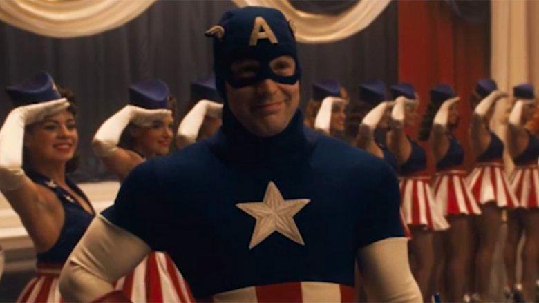 Scene from Captain America: The First Avenger