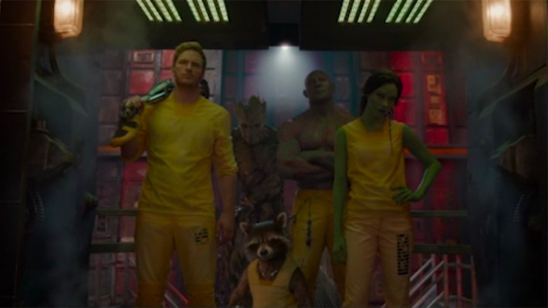 Scene from Guardians of the Galaxy