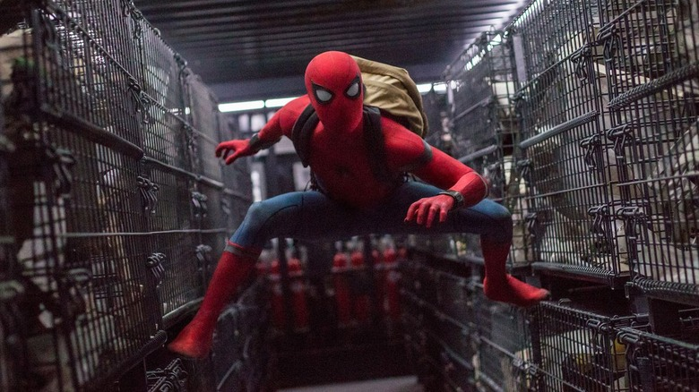 Scene from Spider-Man: Homecoming