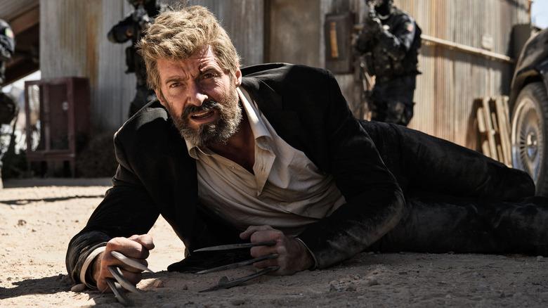 Logan hits the ground