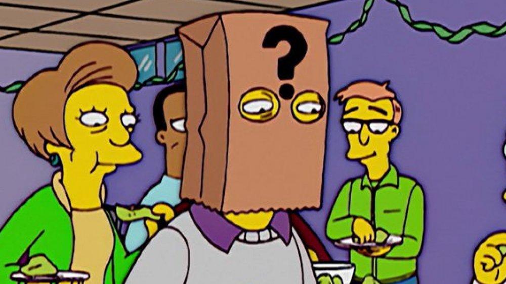 As Aparições na história dos Simpsons Mais Bizarras 11