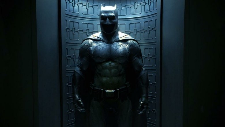 The Batsuit from Batman v Superman: Dawn of Justice (2016)