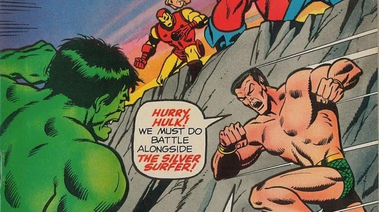 Hulk, Iron Man, and Sub-Mariner