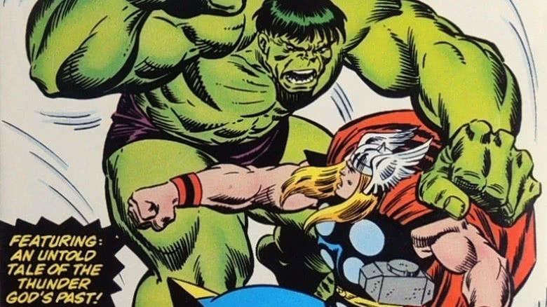 Hulk and Thor