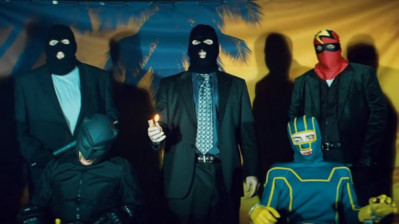Nicolas Cage and Aaron Taylor-Johnson in Kick-Ass