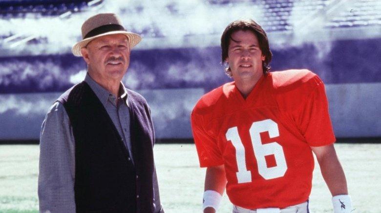 Gene Hackman and Keanu Reeves