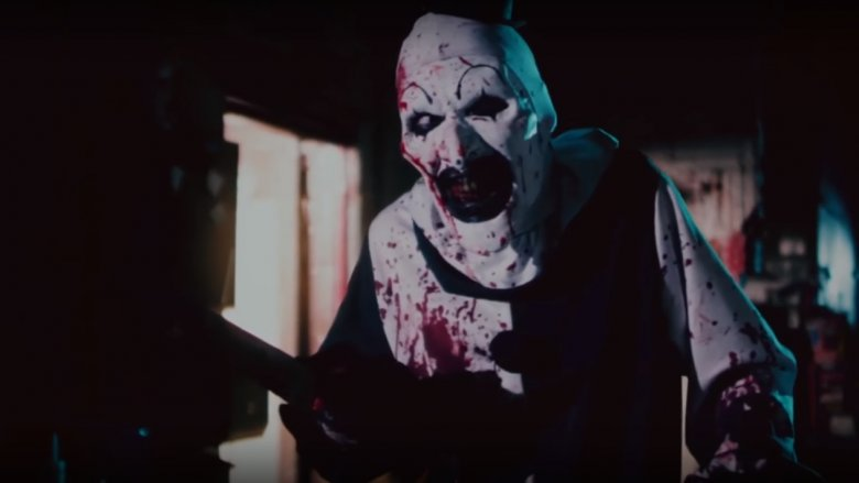 David Howard Thornton in Terrifier