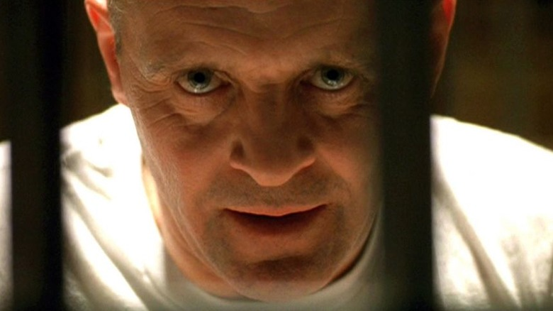 Anthony Hopkins in The Silence of the Lambs.